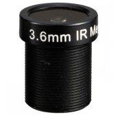 "1/3"" Mono-focal Lens 3.6mm. CUT M12CUT36"