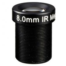 "1/3"" Objektyvas 8mm. IR CUT M12CUT8"