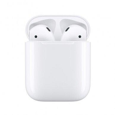 Naudotos originalios ausinės Apple Airpods 2nd Gen
