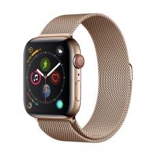 Apyrankė Devia Elegant 44mm Apple Watch aukso spalvos