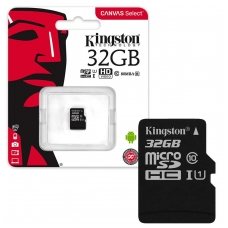 Atminties korta Kingston MicroSD 32Gb Class10