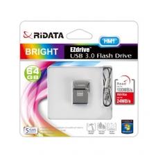 Atmintinė Ridata USB 3.0 64GB  HM1 metalinė