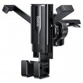 Automobilinis Universalus telefono laikiklis Hoco CA72 Phantom tvirtinamas į ventiliacijos groteles, juodas