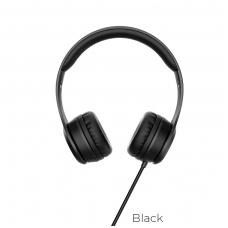 Ausinės HOCO W21 juodos