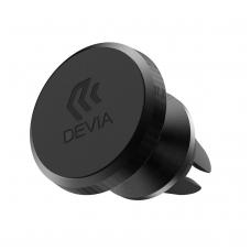 Automobilinis Universalus telefono laikiklis Devia Titan tvirtinamas į ventiliacijos groteles, magnetinis, juodas