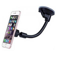 Automobilinis Universalus telefono laikiklis H03, tvirtinamas prie lango, lanksti kojelė, magnetinis