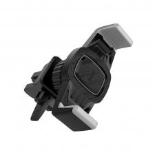 Automobilinis Universalus telefono laikiklis HOCO CA38 juodas-pilkas, tvirtinamas ant ventiliacijos grotelių
