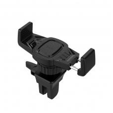 Automobilinis Universalus telefono laikiklis HOCO CA38 juodas, tvirtinamas ant ventiliacijos grotelių