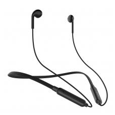 Belaidė laisvų rankų įranga Devia Smart Dual-Earphones juoda