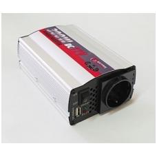 <mark><b><i>BEST-SELLER</mark></b></i> Įtampos keitiklis 12V-220V, 300W