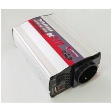 <mark><b><i>BEST-SELLER</mark></b></i> Įtampos keitiklis 24V-220V, 300W