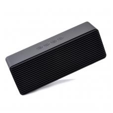 Bluetooth nešiojamas garsiakalbis Devia Life Style 2x3W (USB, microSD, AUX) juodas