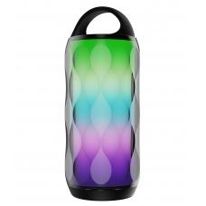 Bluetooth nešiojamas garsiakalbis Devia Rainbow (USB, microSD, AUX, LED)