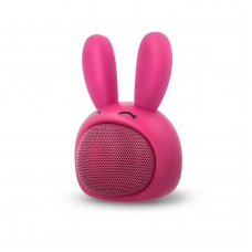 Bluetooth nešiojamas garsiakalbis Forever Sweet Animal Rabbit ABS-100 rožinis