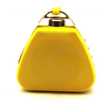 Bluetooth nešiojamas garsiakalbis PTH-17 su pakabinimu (MicroSD, laisvų rankų įranga, AUX) geltonas