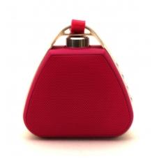 Bluetooth nešiojamas garsiakalbis PTH-17 su pakabinimu (MicroSD, laisvų rankų įranga, AUX) rožinis