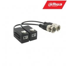 BNC-UTP adapteris HDCVI/AHD/TVI/CVBS 8MP 4K kamerom, pasyvinis. komplekte 2 VNT