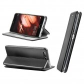 Huawei P Smart Pro / Honor 9s dėklas Book Elegance juodas