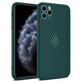 Apple iPhone 11 dėklas Breath Case žalias