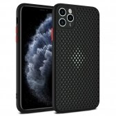 Apple iPhone 12 mini dėklas Breath Case juodas