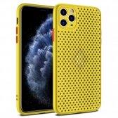 Apple iPhone 12 Pro Max dėklas Breath Case geltonas