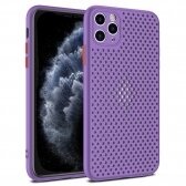 Apple iPhone 12 Pro Max dėklas Breath Case violetinis