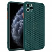 Apple iPhone XR dėklas Breath Case žalias