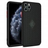 Samsung A415 A41 dėklas Breath Case juodas