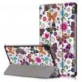 Samsung Tab S6 Lite dėklas Smart Leather butterfly