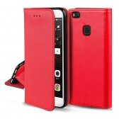Apple iPhone 12 / 12 Pro dėklas Smart Magnet raudonas