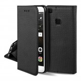 Huawei P40 Lite E dėklas Smart Magnet juodas