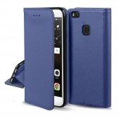 Huawei P40 Lite E dėklas Smart Magnet tamsiai mėlynas