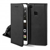 Huawei P50 dėklas Smart Magnet juodas