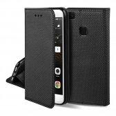 Huawei Y6P dėklas Smart Magnet juodas