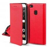 Xiaomi Redmi Note 10 5G dėklas Smart Magnet raudonas