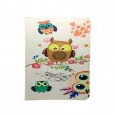 Dėklas Universalus planšetiniam kompiuteriui Owls Family 9-10
