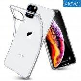 Apple iPhone 12 Pro Max dėklas X-Level Antislip/O2 skaidrus