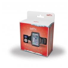 Dėklas ant rankos Samsung N9005 Note 3 ir MP3 grotuvas Setty su ausinėmis,LCD ekranu
