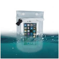 Dėklas atsparus vandeniui Waterproof skaidrus 5,5'