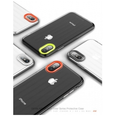 Apple iPhone X/XS dėklas Devia Yonger pilkas