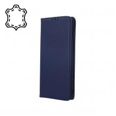 """Huawei P Smart Z/Y9 Prime 2019 dėklas iš natūralios odos """"Smart Pro"""" tamsiai mėlynas"""