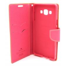 """Dėklas Mercury Goospery """"Fancy Diary"""" Sony E6553 Xperia Z3+ rožinis/koralo spalvos"""