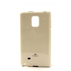 """Dėklas Mercury Goospery """"Jelly Case"""" Sony E6553 Xperia Z3+ baltas"""