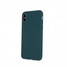 Xiaomi Mi Note 10 / Mi Note 10 Pro dėklas Rubber TPU tamsiai žalias