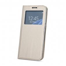 """Dėklas """"Smart Look"""" Sony Xperia XA2 rožinis-auksinis"""