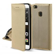 Samsung A51 A515 dėklas Smart Magnet auksinis
