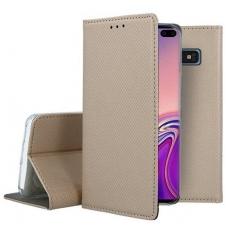 "Samsung A530 A8 2018 dėklas ""Smart Magnet"" auksinis"