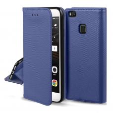 Xiaomi Mi Note 10 / Mi Note 10 Pro dėklas Smart Magnet tamsiai mėlynas