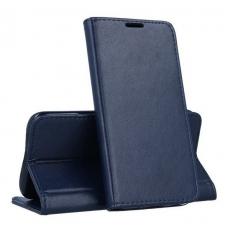 Xiaomi Mi Note 10 / Mi Note 10 Pro dėklas Smart Magnetic tamsiai mėlynas