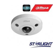 FishEye 360° 4K IP kam.6MP(3072x2048) STARLIGHT STARVIS sensor. 25fps, H.265, IR, IP67, IK10, PoE